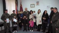 Pripadnicima Hrvatske vojske dodijeljeni stanovi u Kninu