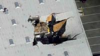 Pilot F-16 se katapultirao prije pada zrakoplova na zgradu u Kaliforniji
