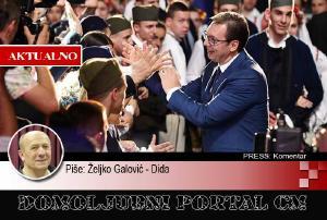 Rezime Vučićevog posjeta RH: Došao 'obrijani' četnik, otišao četnički vojvoda | Domoljubni portal CM | Press