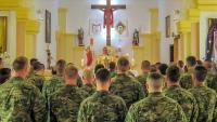 Hrvatski vojnici u Poljskoj proslavili Uskrs | Domoljubni portal CM | Press