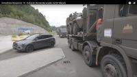 Dolazak snaga cestovnim putem na vježbu Immediate Response 19 | Domoljubni portal CM | Press
