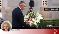 Canberra: Željko Glasnović svečano položio vijenac za pale branitelje Hrvatske i Australije | Domoljubni portal CM | Hrvati u svijetu