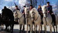 Pokladnim jahanjem u Bapskoj započela sezona ovogodišnjih pokladnih jahanja u Slavoniji
