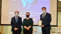 Ministar Banožić na predstavljanju novog projekta tvrtke Šestan-Busch