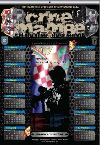NOVI KALENDAR UDRUGE 'CRNE MAMBE' | Crne Mambe | Rad Udruge