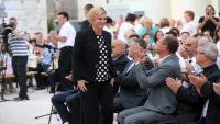 Predsjednica u Višnjanu: Uz zajedništvo možemo sve