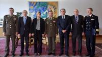 Krstičević i Šundov s Predsjednicom RH povodom Dana HV-a