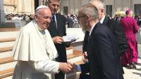 Susret ministra Krstičevića i Svetog Oca u Vatikanu