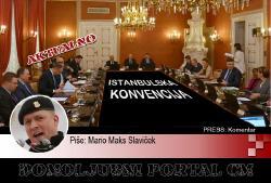 Mario Maks Slaviček: Zašto sam protiv ratifikacije Istanbulske konvencije   Domoljubni portal CM   Press