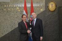 Ministar Krstičević primio ministra obrane Paragvaja