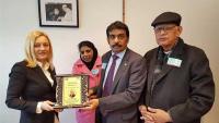 Petir primila priznanje za zalaganje za pakistanske kršćane