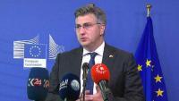 Plenković: Hrvatska će zaštititi svoje nacionalne interese