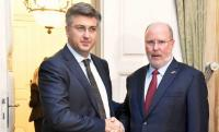 Plenković primio novog veleposlanika SAD-a Kohorsta