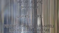 29. obljetnica akcije Plitvice i pogibije Josipa Jovića