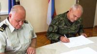 Primopredaja dužnosti zapovjednika Središta za obuku i doktrinu logistike