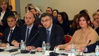 Sjednica Savjeta za Slavoniju, Baranju i Srijem u Novoj Gradiški