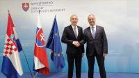 Ministar Krstičević u službenom posjetu Slovačkoj