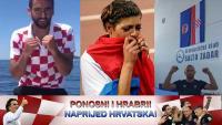 Sportaši uz nogometaše: Naprijed Vatreni, naprijed Hrvatska!