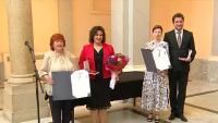 Nagrada 'Milka Trnina' Diani Haller i Filipu Faku | Domoljubni portal CM | Kultura