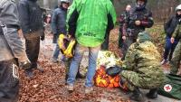 Pripadnici Hrvatske vojske spasili francuskog turista