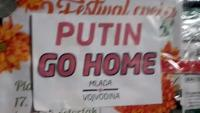 Vojvodina: Putin go home!