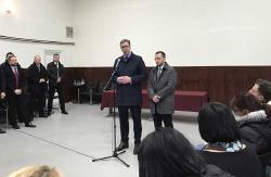 Vučić u Vrginmostu: Očekujete moju poniznost, ali je nećete vidjeti