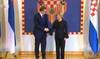 Vučić u dvodnevnom posjetu RH