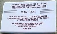 U Beču otkrivena spomen ploča skladatelju Ivanu pl. Zajcu