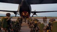 Padobranski desant združenih snaga na vježbi Swift Response 19