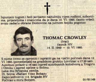 Thomas Crowley